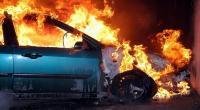 Pikap Terbakar di Kawasan Gunung Gumitir, Diduga Korsleting Mesin