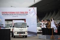 Gubernur Jabar Hadiri Pelepasan Ekspor Perdana Isuzu Traga