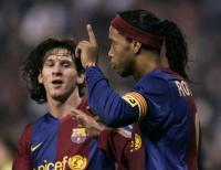 Ronaldinho Ungkap Kekaguman terhadap Messi