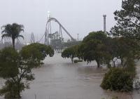 Banjir Rendam Sejumlah Taman Hiburan di Gold Coast Australia