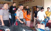 Pasutri Pelaku Curanmor Dihadiahi Timah Panas Polisi