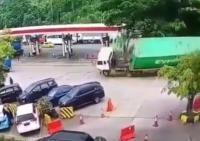 Sopir Kontainer yang Kecelakaan di Rest Area Tol Cipularang Tak Miliki SIM
