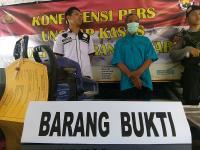 Polisi Tetapkan Tersangka Penebangan Pohon Hutan Gunung Lawu