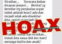 Sebar Hoaks soal Penjualan Organ Tubuh, Ketua RT di Palangkaraya Ditangkap