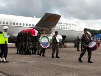 Tiba di Kupang, Jenazah Pratu Yanuarius Loe Korban Heli MI-17 Akan Dimakamkan di Belu