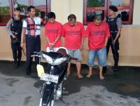 Polisi Ringkus Komplotan Pencuri dan Penadah Motor di Sampang Madura