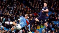Man City Unggul 1-0 atas West Ham di Babak Pertama
