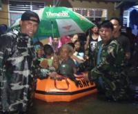 265 Warga Masih Mengungsi Akibat Banjir Pekalongan