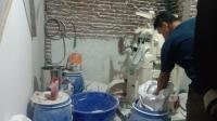 Melihat Isi Pabrik Narkoba Rumahan di Bandung
