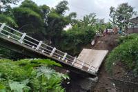 Baru Beroperasi 3 Bulan, Jembatan Pusung Sidodadi di Boyolali Ambruk
