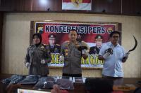 Konvoi Bawa Celurit Viral di Medsos, 4 Anggota Geng Sariayam Diciduk