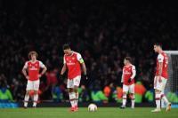 Kekalahan dari Olympiakos Bikin Arsenal Sulit Amankan Posisi Empat Besar Liga Inggris