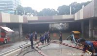 Underpass Kemayoran Sudah 4 Hari Banjir, Petugas Terus Sedot Genangan