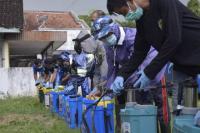 Cegah Virus Corona, 142 Titik di Ponorogo Disemprot Cairan Disinfektan