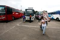 Terminal Giwangan Sepi Penumpang Bus Hanya Bawa 1 Penumpang Imbas Covid-19