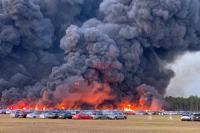 3.500 Mobil Terbakar di Florida AS