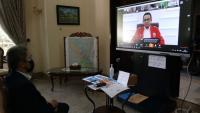Rapat dengan Anies, Wawalkot Bogor Harap Sinergitas PSBB di Jabodetabek