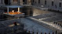 Pekan Suci Jelang Paskah, Roma dan Vatikan Sepi karena Wabah COVID-19
