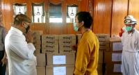 Hentikan Kegiatan Politik, Gibran Mendadak Jadi Relawan Corona di Solo