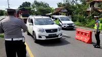 Angka Kasus Corona Tinggi, Polisi Perketat Keluar-Masuk Jawa Timur