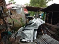 Angin Puting Beliung Rusak Puluhan Rumah di Tapanuli Utara