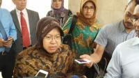 BIN Salurkan Ribuan Alkes ke Surabaya, Risma Menangis Haru