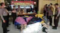 Polisi Amankan Ratusan Balon Udara Siap Terbang di Pekalongan