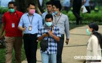 Tekan Penularan Covid-19, Pemkot Surabaya Pasang Rambu Wajib Pakai Masker