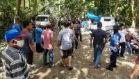 Polisi Bubarkan Ratusan Warga yang Datang Terapi ke Sungai Magguliling