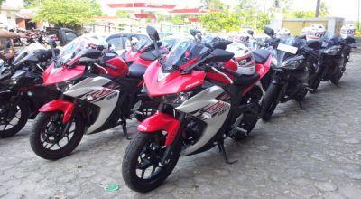 Touring Menantang Yamaha di Negeri Laskar Pelangi