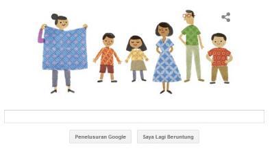 Google Doodle Ikut Populerkan Batik Indonesia