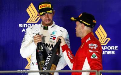 Hamilton Ingin Lebih Banyak Berduel Melawan Vettel di Lintasan