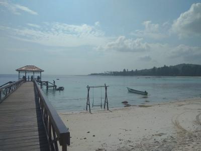 Indahnya Pantai Jikumerasa, Lokasi Festival Pesona Bupalo 2018