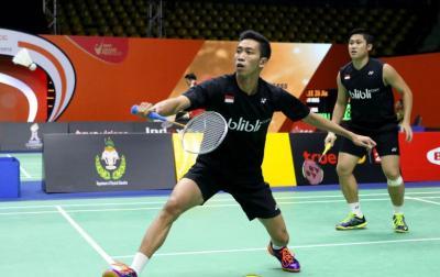 Wahyu Ade Tumbang di Babak Pertama Denmark Open 2018