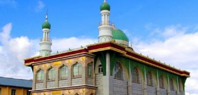 Mengintip Keunikan Masjid Agung Lasha Tibet, Masjid 'Tertinggi' di Dunia