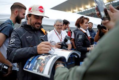 Fernando Alonso Tak Sabar Tinggalkan F1