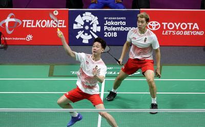 Rekor Pertemuan Marcus Kevin vs He Jiting Tan Qiang