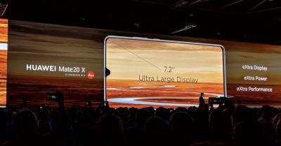 Huawei Mate 20 X Usung Layar 7,2 Inci, Intip Spesifikasinya