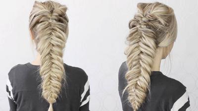 Ciptakan Tampilan Fresh dengan Gaya Rambut Kepang Fishtail, Begini Cara Bikinnya!