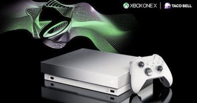 Microsoft dan Taco Bell Hadirkan Edisi Terbatas Xbox One X