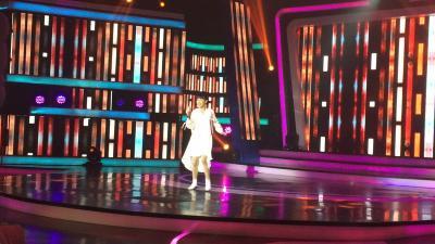 Britney Tampil Manis Bawakan Respect di Indonesian Idol Junior