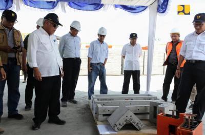 Menteri Basuki Cek Progres Rehabilitasi dan Rekonstruksi Rumah Warga di Lombok