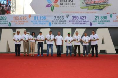 MNC Sekuritas Makassar Raih Penghargaan Inklusi Keuangan OJK 2018