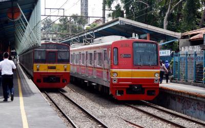 Jalur Ganda KRL Maja-Rangkasbitung Beroperasi November