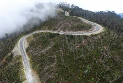 4 Tahun Jokowi-JK, Jalan Trans Papua Sudah Tembus 3.103 Km