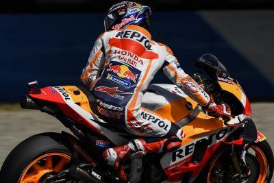 Marquez Akui Sempat Hilang Fokus saat Dovizioso Terjatuh