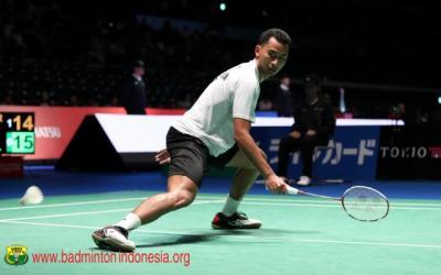 Tommy Sugiarto Tersingkir di Babak Pertama Prancis Open 2018