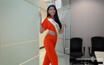 Keseruan Karantina Hari ke-2 Alya Nurshabrina di Miss World 2018