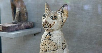 Mumi Kucing Ditemukan di Makam Berusia 2.500 Tahun