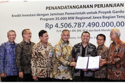 PLN Raih Pinjaman Rp4,5 Triliun untuk Bangun Gardu Induk